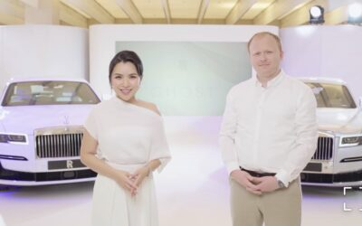 LAUNCH OF THE NEW ROLLS-ROYCE GHOST